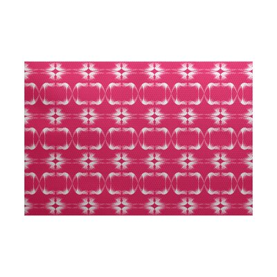 Golden Gate Pink Indoor/Outdoor Area Rug Rug Size: 4 x 6