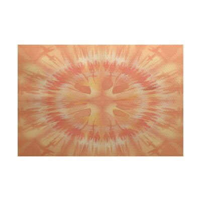 Armstrong Orange Area Rug Rug Size: 2 x 3