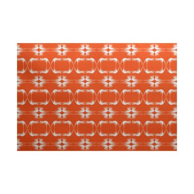 Bartow Orange Indoor/Outdoor Area Rug Rug Size: 5 x 7
