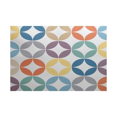 Francisco Green/Blue Indoor/Outdoor Area Rug Rug Size: 3 x 5