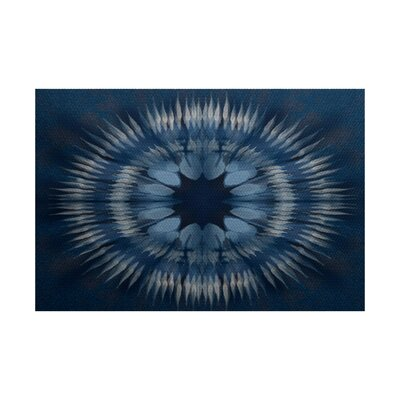 Armstrong Blue Area Rug Rug Size: Rectangle 2 x 3