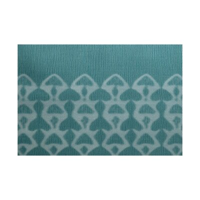 Viet Green Geometric Indoor/Outdoor Area Rug Rug Size: 3 x 5