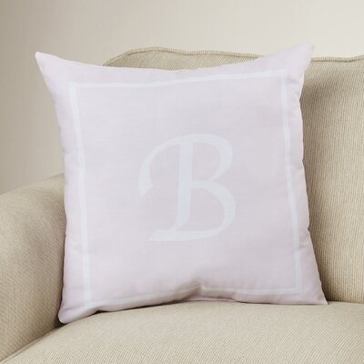 Cartier Box Monogram Throw Pillow