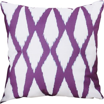 Blauvelt Decorative Hypo Allergenic Throw Pillow Size: 16 H x 16 W, Color: Pink