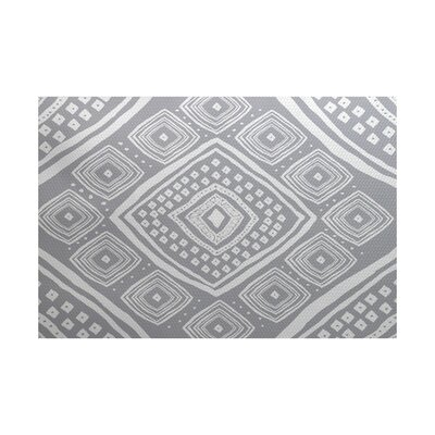 Hieu Gray Indoor/Outdoor Area Rug Rug Size: 2 x 3