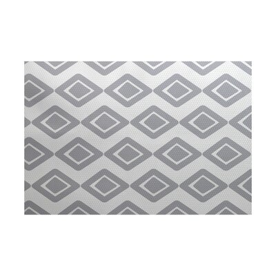 Abbie Gray Indoor/Outdoor Area Rug Rug Size: 2 x 3