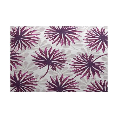 Costigan Purple Indoor/Outdoor Area Rug Rug Size: 2' x 3'