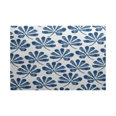 Allen Park Blue Indoor/Outdoor Area Rug Rug Size: 4 x 6