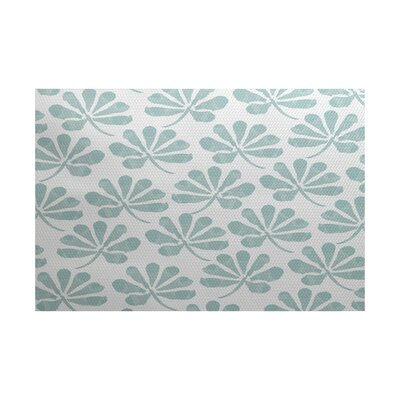 Allen Park Green Indoor/Outdoor Area Rug Rug Size: 2 x 3