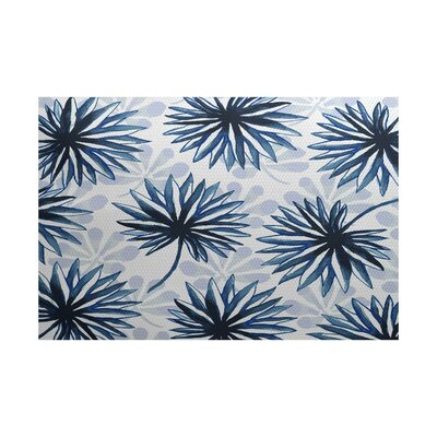 Costigan Blue Indoor/Outdoor Area Rug Rug Size: 5 x 7
