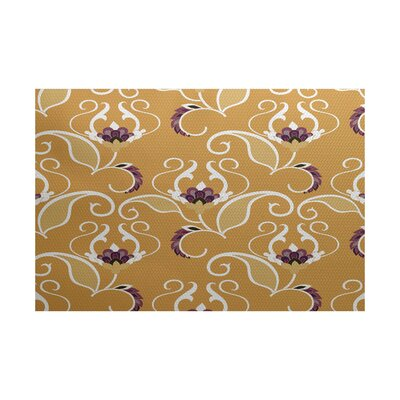Selina Yellow Indoor/Outdoor Area Rug Rug Size: 2 x 3