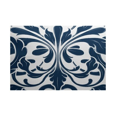 Harmen Blue Indoor/Outdoor Area Rug Rug Size: Rectangle 3 x 5