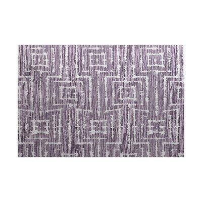 Costigan Purple Indoor/Outdoor Area Rug Rug Size: 4 x 6