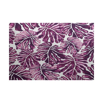 Thirlby Purple Indoor/Outdoor Area Rug Rug Size: 3 x 5