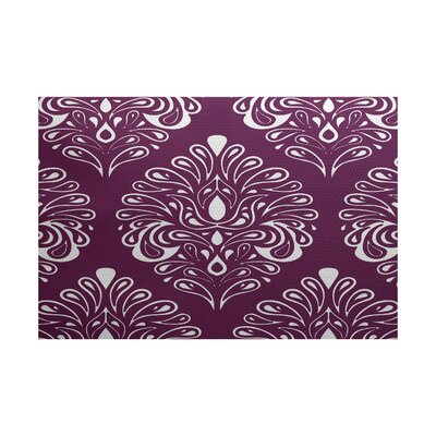 Selina Purple Indoor/Outdoor Area Rug Rug Size: 3 x 5