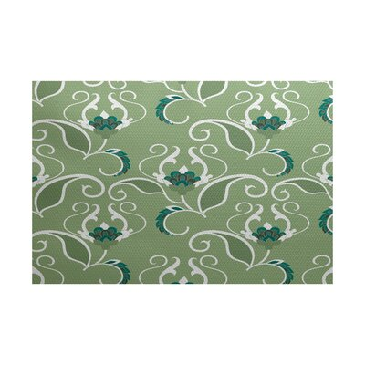 Harmen Green Indoor/Outdoor Area Rug Rug Size: Rectangle 2 x 3