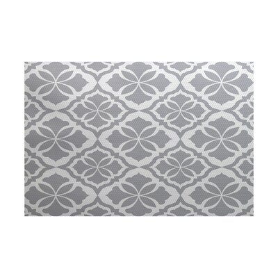 Selina Gray Indoor/Outdoor Area Rug Rug Size: 5 x 7
