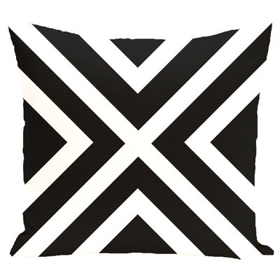 Stripe Decorative Pillow Size: 16 H x 16 W x 2 D