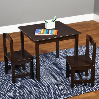 Hayden Kids 3 Piece Square Table & Chair Set 91120ESP