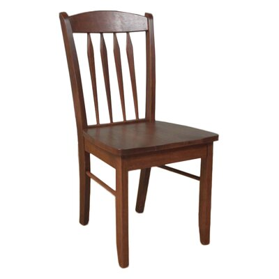 Oreland Solid Wood Dining Chair Finish: Cherry