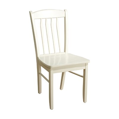 Savannah Solid Wood Dining Chair Finish: Off-White
