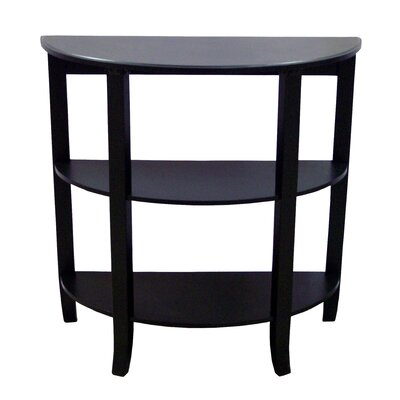 London Hall Console Table Finish: Black