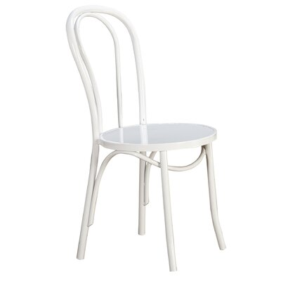 Lexington Side Chair Color: White