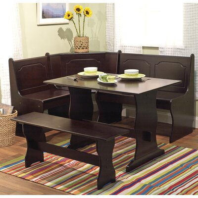 Cheap TMS Nook 3 Piece Dining Set in Espresso (TXR1114)