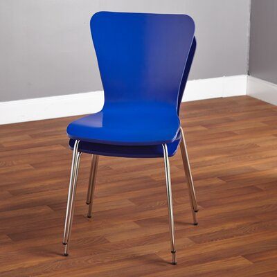 Batheaston Solid Wood Dining Chair Color: Blue