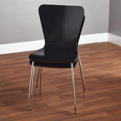 Batheaston Solid Wood Dining Chair Color: Black