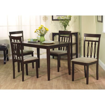 In store financing Carson 5 Piece Dining Set...
