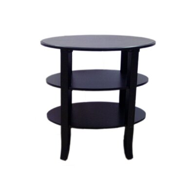 Callicoon End Table Finish: Black