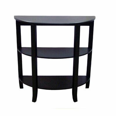 Cheap TMS London 3-Tier Hall Table in Black (TXR1181)