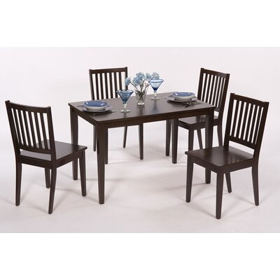 Credit for Shaker 5 Piece Dining Set Finish: E...