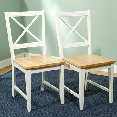 Low Price TMS Virginia Side Chair (Set of 2) Finish: White