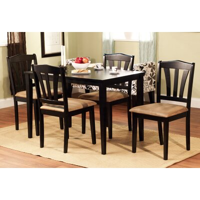 Bad credit financing Metropolitan 5 Piece Dining Set Fin...