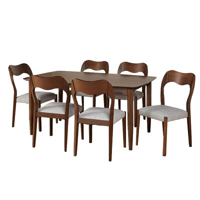 Alize 7 Piece Dining Set