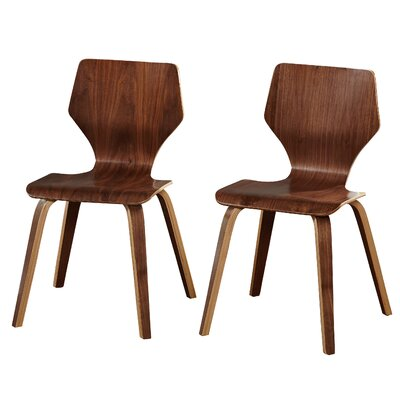 Luff Side Chair Finish: Walnut