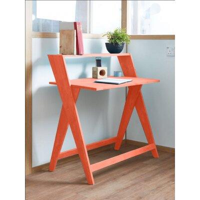 Pridemore Writing Desk Color: Orange