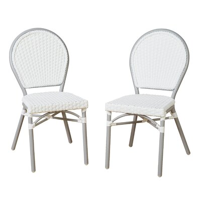 Deslauriers Patio 3 Piece Bistro Set
