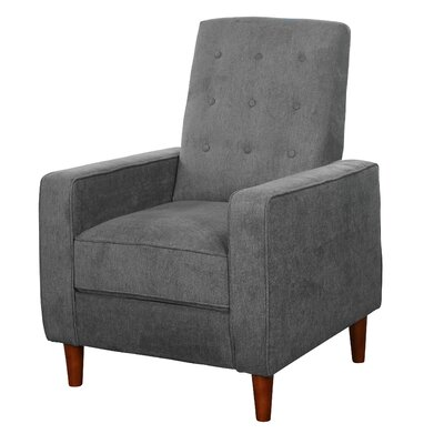 Krellenstein Arm Chair Upholstery: Gray