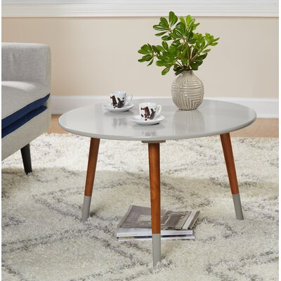 Prichard Coffee Table Finish: Gray/Walnut