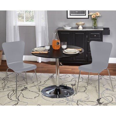 Saladino 3 Piece Dining Set Chair Color: Gray