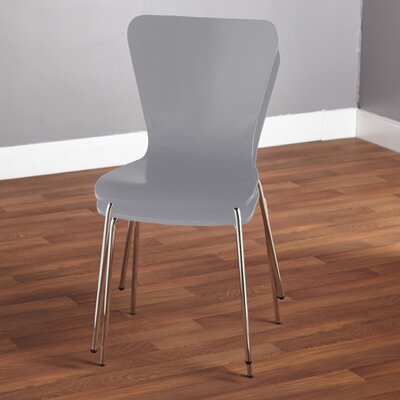 Batheaston Solid Wood Dining Chair Color: Gray