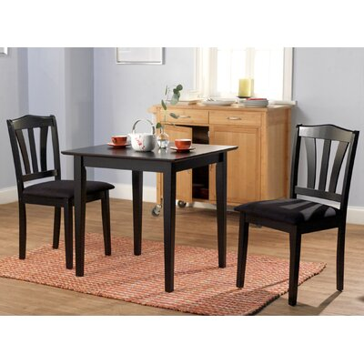 In store financing Metropolitan 3 Piece Dining Set Fin...