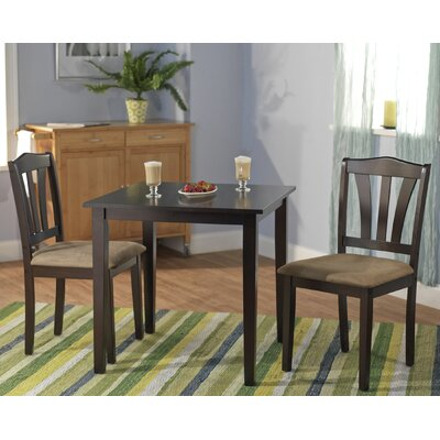 Image of TMS 3 Piece Metropolitan Dining Set in Espresso (TXR1245)