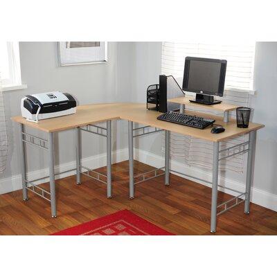 TMS Wrap Computer Desk - Finish: Natural