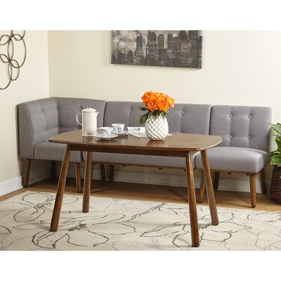 Bucci 4 Piece Breakfast Nook Dining Set