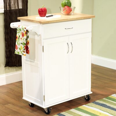 TMS Kitchen Cart - Base Finish: White at Sears.com