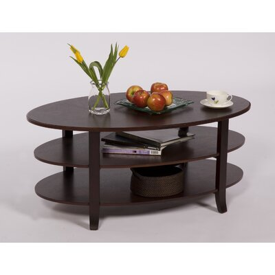London 3 Tier Coffee Table Color: Espresso